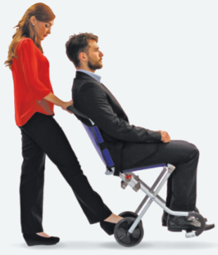 Carrylite Chair in Action