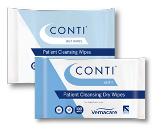 Wet or Dry Patient Wipes